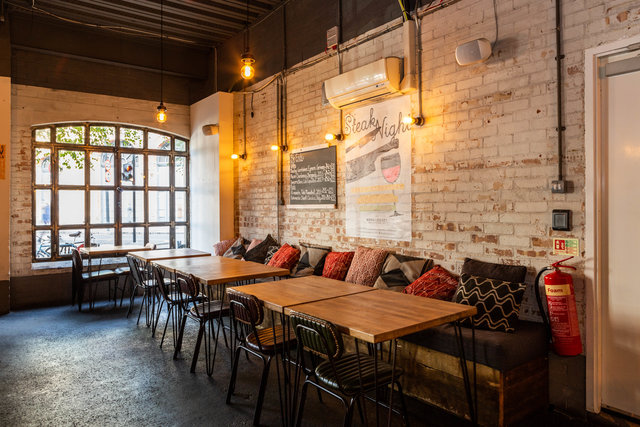 find a co-working space in Bermondsey Bar + Kitchen, London