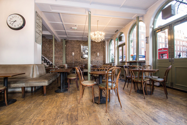 find a co-working space in Baker Street