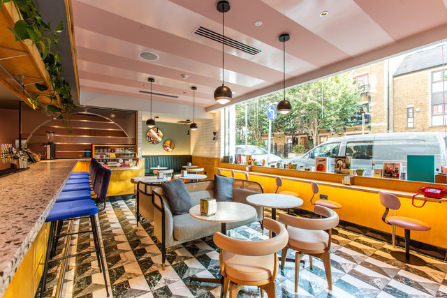 find a co-working space in The Provisioners at The Dixon Hotel , London