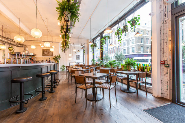 find a co-working space in Fare Bar + Canteen , London