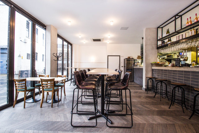 find a co-working space in Melior St, London