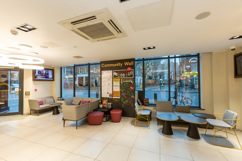 find a co-working space in Kings Cross St. Pancras